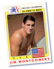 Jim Montgomery's Olympiad Trading Card